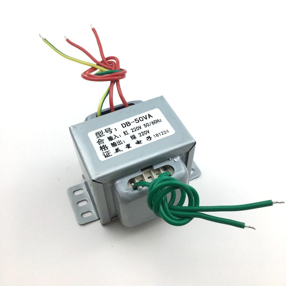 anti interferencia do isolamento da seguranca do transformador db 50va 50 w 220 v do isolamento