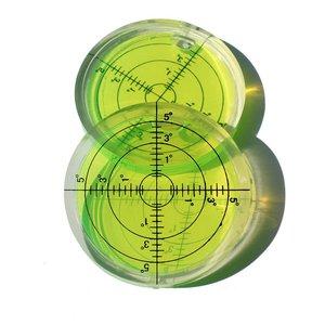 Image 5 - Universal Level Bubble Diameter 66mm Height 10mm Degree Mark Surface Round Circular Spirit Level 1PCS