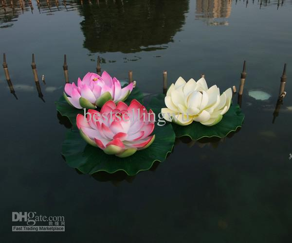 Us 200 Diameter 10 Cm Artificial Lotus Flower Water Pool Fish Tank Decor Plants Craft Supplies For Wedding Party Home Decoration In Artificial