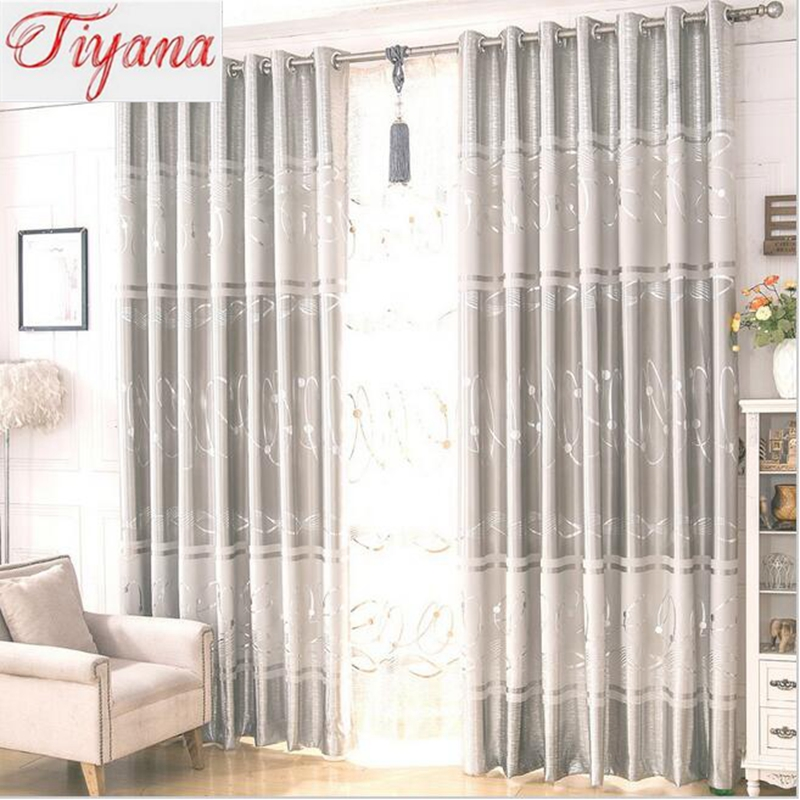 High Quality Two Color Choose Luxury Europe Curtain For Living Room Bedroom Blackout Cloth