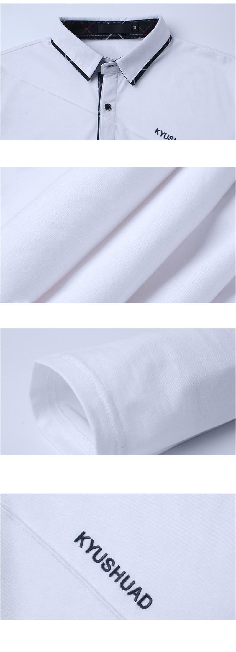HTB1ZSKZatfvK1RjSszhq6AcGFXae 5XL Polo Shirt Collar Men Plus Size 3XL 4XL Autumn Button Brand Men Polo Shirt Long Sleeve Casual Male Shirt Dress Polo Shirts