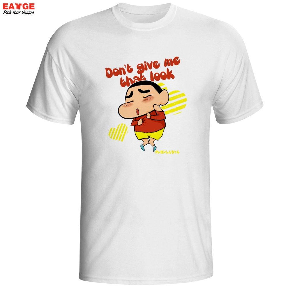 Design your t shirt india - Do Not Give Crayon Shin Chan That Look T Shirt Funny Classic Anime Design T