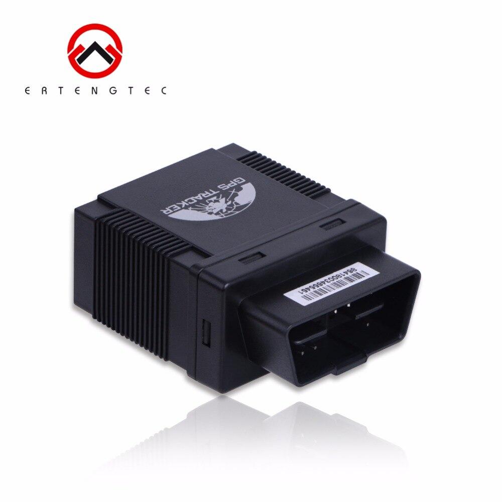 Dispositif de suivi de voiture de traqueur de GPS d'obd Coban TK306A GSM localisateur de GPS traqueur de Vehile lisent le moniteur de voix de données d'obd APP gratuite de Web