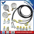 Excavator Pressure Gauge Diagnostic Tool, Test Kit