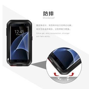 Image 4 - האהבה מיי אנטי דפיקה אלומיניום מקרי טלפון לסמסונג גלקסי מקרה קצה s7 לסמסונג גלקסי קצה S6 S7 S8 Case כיסוי 4 32 64 GB