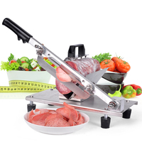 Stainless Steel  Mutton Slices Knife Shape Cutter Tools Cold Meat Mutton Rolling Knife|meat mutton|mutton meatcutter meat -