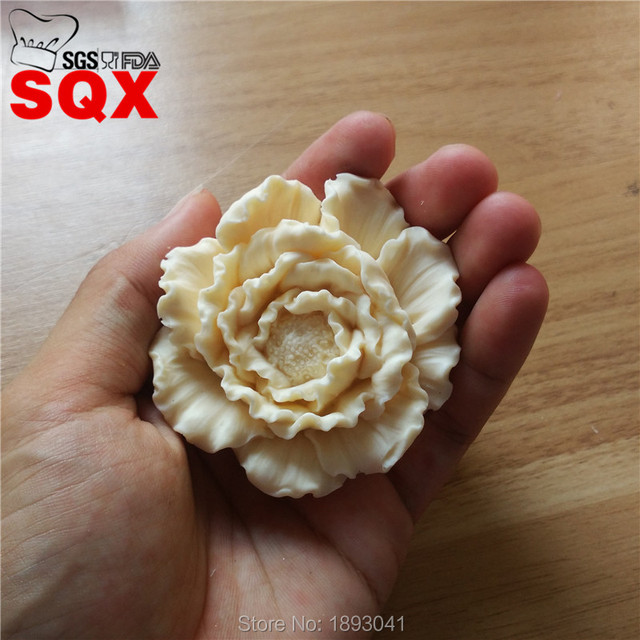 3D Peony Shape Silicone Mold, Soap Silicone Mold, Die Casting Mold, Cake Decorating Tool, Kitchen Accessories SQ16279