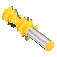 New 1 2 Shank Large Elaborate Chair Rail Molding Router Bit For Woodworking