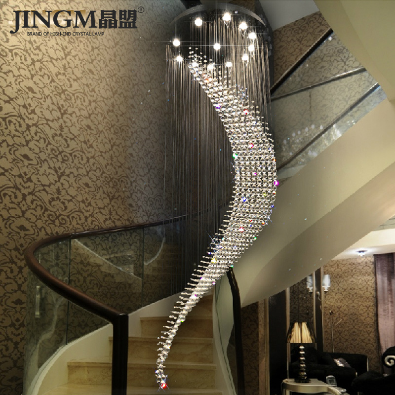 Crystal LED League Double Staircase