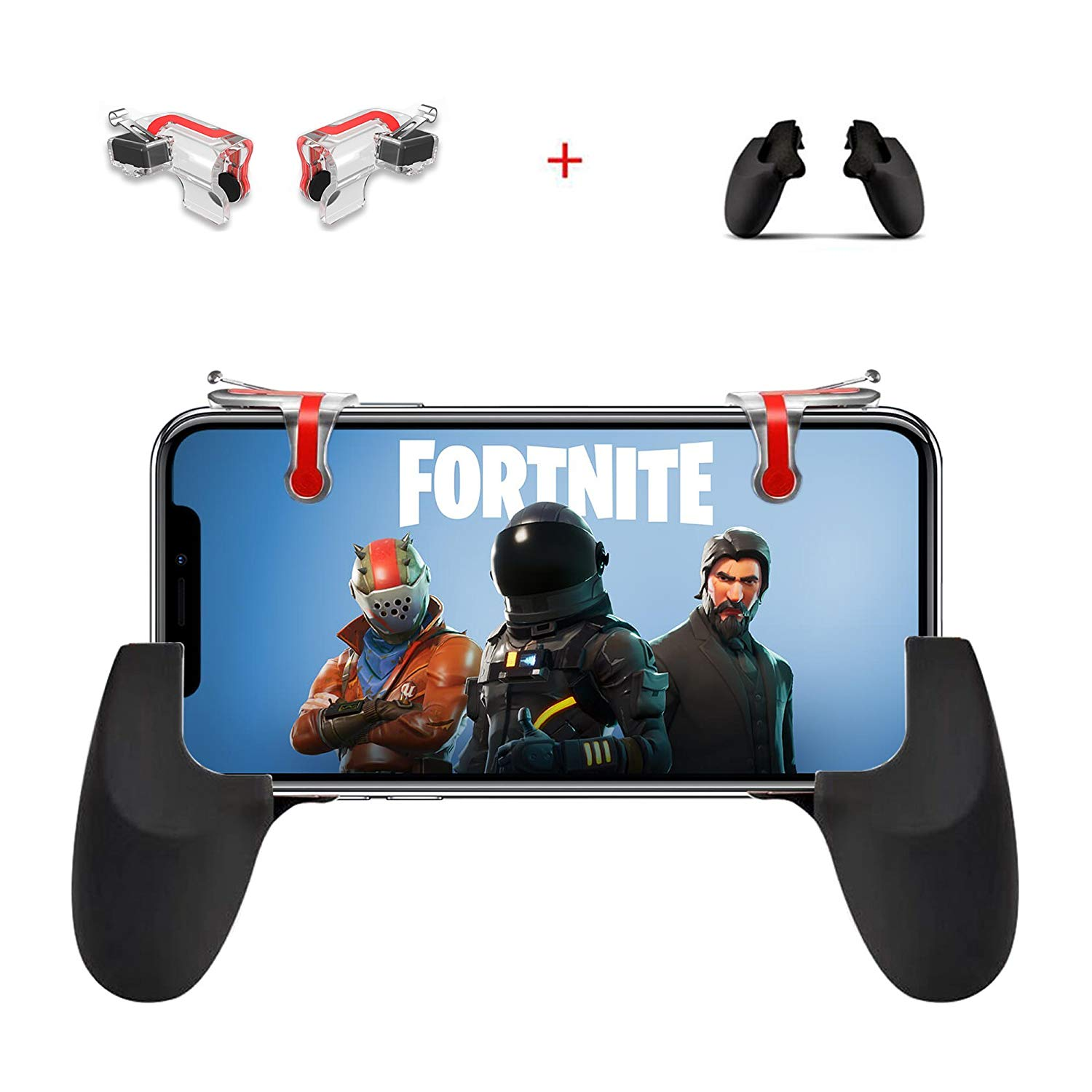 Mobile Game Controller and Gamepad, Sensitive Shoot and Aim Trigger
