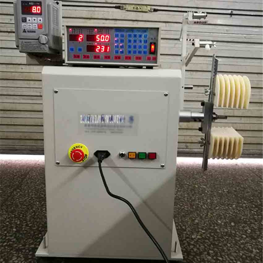 220V Automatic winding machine motor stator coil wire winding machine motor maintenance winding machine Maximum line width 200mm