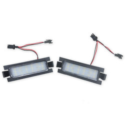 2pcs Canbus 18SMD Led Number License Plate Light Lamp for Hyundai I30 (GD)2013 2014 2015 Auto Car-styling