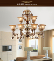 Lamps fashion antique pendant light rustic dining room lamp ch056
