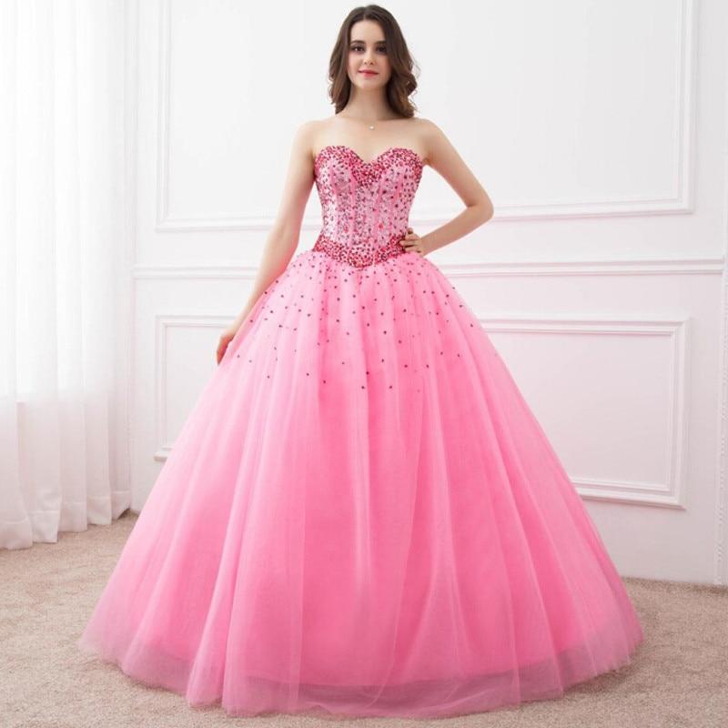 En Stock Vestido de bola Vestidos de quinceañera Sweetheart Spaking - Vestidos para ocasiones especiales
