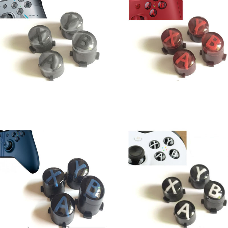 Custom Special Design Mod Kit For Xbox One Slim Elite One S Controller ABXY button Kit Bullet Buttons Repair Parts Replacement