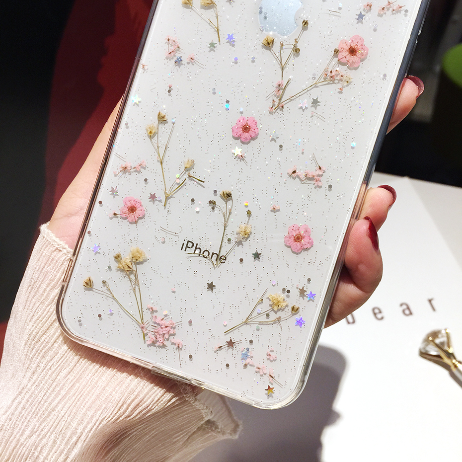 Flowers Soft Case for iPhone SE (2020) 51