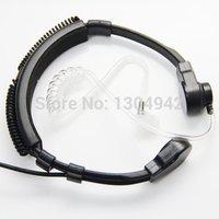 מכשיר הקשר גמיש גרון מיקרופון מיקרופון Covert אקוסטית Tube אוזניות באפרכסת Baofeng Kenwood אוזניות TK רדיו מכשיר הקשר (4)