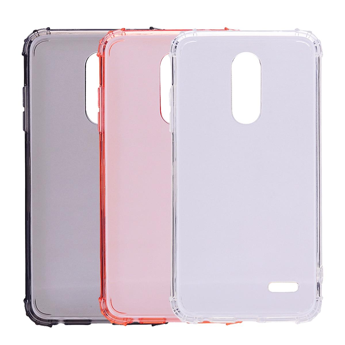 3 Pcs For Cover LG K11 Case Soft TPU Airbag Bumper Housings For LG K10 Plus 2018 Phone Case For LG K10 2018 Cover K10a 5.3''