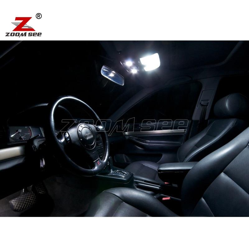 17pc x 100% Gabim falas Llambë LED Harta e brendshme me kube kube - Dritat e makinave - Foto 4