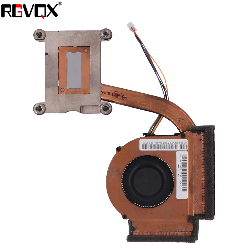 Купить с кэшбэком NEW Laptop Cooling Fan For Lenovo For ThinkPad T440P Integrated graphics Heatsink PN:BATA0610R5U Cooler Radiator