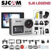 Оригинальный SJCAM SJ6 Легенда Спорт действий Камера 4 К Wi Fi 30 м Водонепроницаемый Ultra HD 2 Сенсорный экран Notavek 96660 спорт DV VS Go hero4
