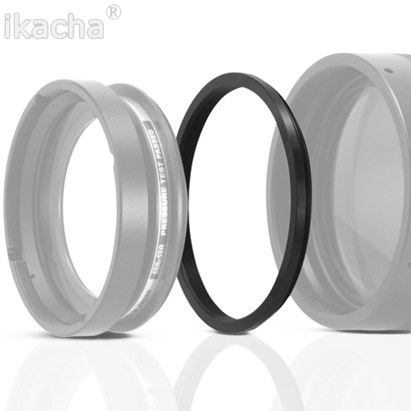 Black Metal 42mm-39mm 42-39mm 42 to 39 Step Down Ring Filter Adapter Camera Free Shipping