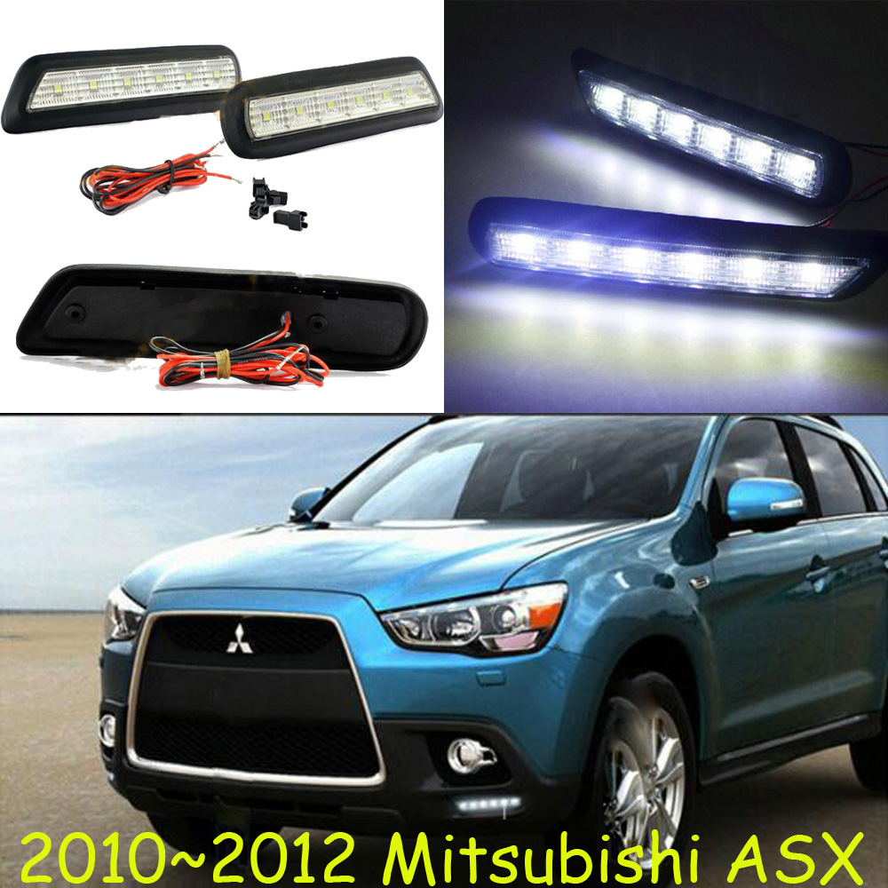 Only 36USD/SET! Mitsubish ASX daytime light;2009~2012/2013~2016, Free ship!LED,ASX fog light,Outlander,ASX