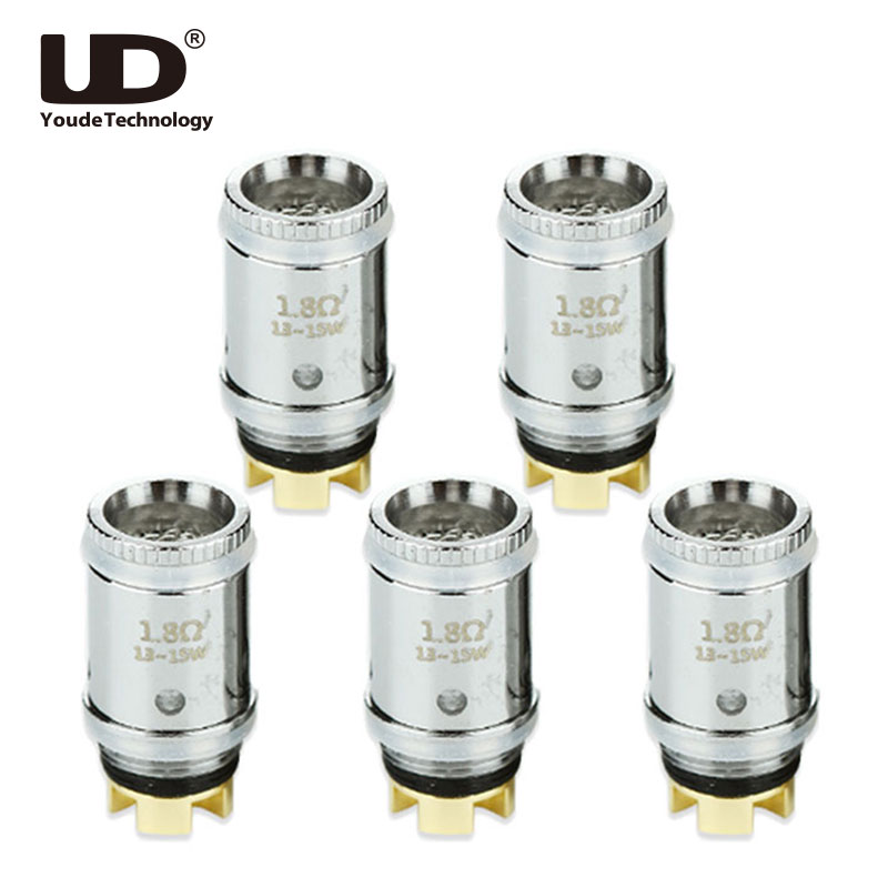 5pcs Original Youde UD Mesmer MOCC Coil 0.5ohm & 1.8ohm KA1 Atomizer Head for UD Mesmer Tank вставка aparici dress mesmer inserto 12x12
