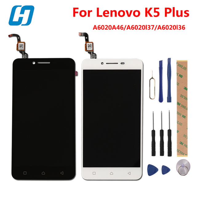 Lenovo K5 Plus Lcd Display +Touch Scree 5.0 New Digitizer Touch Screen Panel Accessory For Lenovo K5 Plus A6020A46