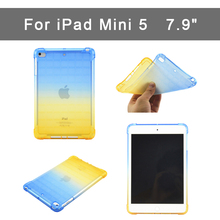 купить Case for Apple ipad mini5 case slim Gradient Soft TPU shell Back Cover for iPad Mini 5  Protective shell 7.9