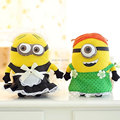 25CM 3D Despicable ME 2 Movie Plush Toy 9Inch Minions Maid outfits + green apron Movies & TV