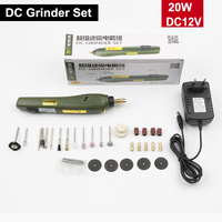 DC grinder set Rechargeable Engraving Pen Micro Grinder Mini drill wireless Electric grinding DIY tool Set