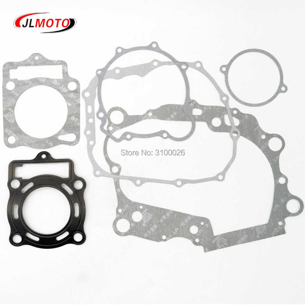 1Set Engine Gasket Kit Fit For LC172MM 170MM Loncin 250cc Water Cooled Engine Mikilon BSE Jinling 250cc ATV XMOTO Dirt Bike