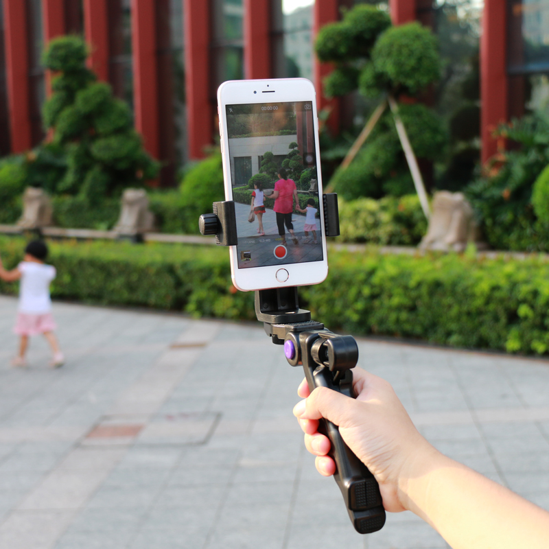 Ulanzi Handheld Live Streaming Stabilizer Steadicam Video Recording hand Grip Mount Holder for Mobile Phone Foldable