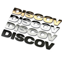 Original Discovery 4 Words Car Styling High Quality Metal Car Refit Stickers Car Words Emblem For