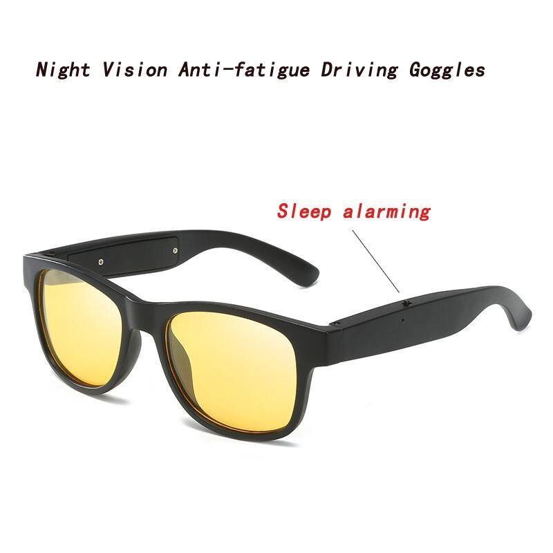 Di Animo Gentile Di Visione Notturna Di Guida Anti-fatica Sonno Allarmante Occhiali Polarizzati Occhiali Cambiamento Di Colore Occhiali Da Sole Di Hd Scelta Materiali