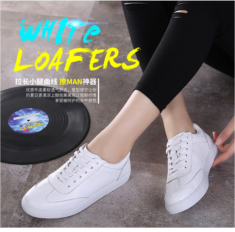 Free Shipping Spring and Autumn Men Canvas Shoes High Quality Fashion Casual Shoes Low Top Brand Single Shoes Thick Sole 7583 -  -  (7) -  -  -  -