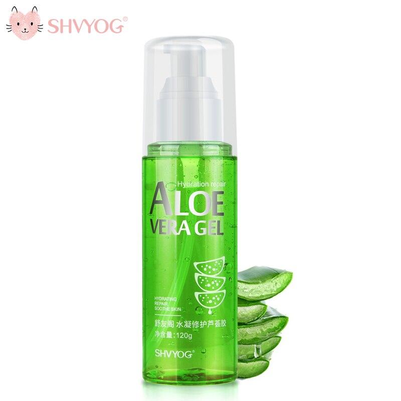 SHVYOG Repair Sun Aloe Gel Cream Deep Hydration Moisturizng Wrinkle Resistance Soothing Skin Care