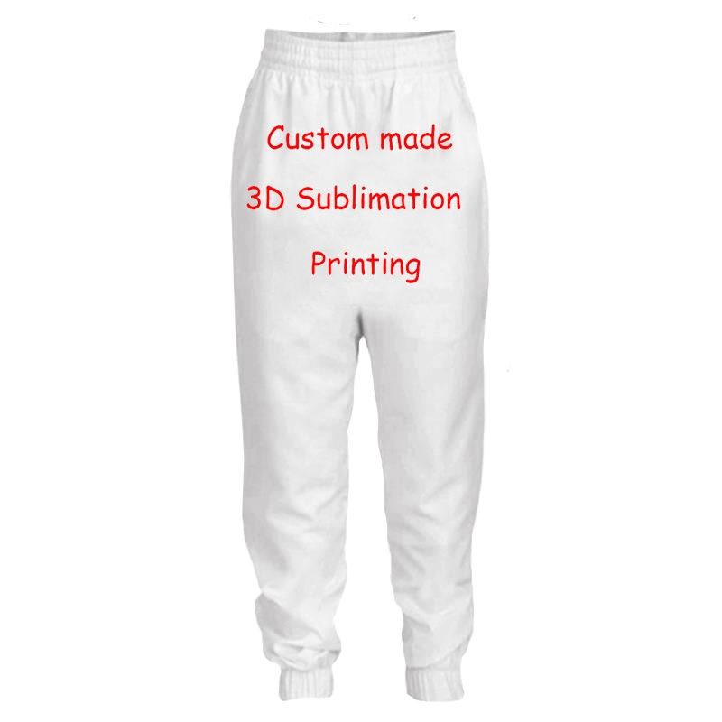LIASOSO Create Your Own Customer Design Anime/Photo/Star/You Want/Singer Pattern/DIY pant 3D Print Sublimation Pant  Y160