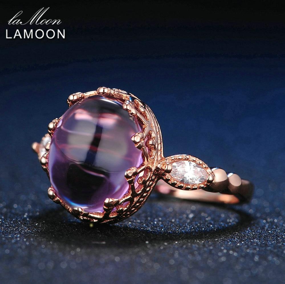 LAMOON 925 სტერლინგი - ლამაზი სამკაულები - ფოტო 5