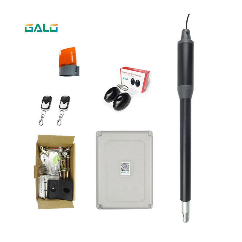 GALO Home Security Series Aluminum Single Automatic Gate Opener Kit for Swing Gates/door
