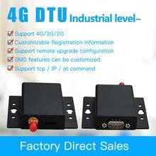 4G DTU متوافق مع جي بي آر إس/3G GSM مودم بيانات شفافة انتقال RS485 و 232 البيانات اللاسلكية محطة المعدات 4G DTU