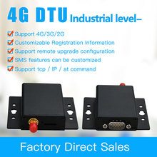 4G DTU ile uyumlu GPRS/3G GSM Modem Veri Şeffaf Iletim RS485 ve 232 kablosuz veri terminali ekipmanları 4G DTU
