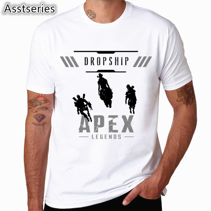 APEX Games You are The Champion Mens Short Sleeve T-Shirt Short Sleeve T Shirt for Mens Black