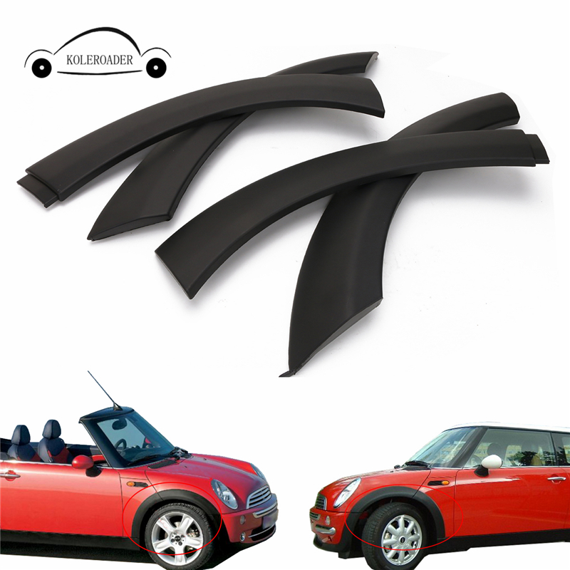 For Mini Cooper Wheel Arch Trim Front Hood For BMW MINI One / One D / Cooper / Cooper S R50 R52 R53 2002-2008 / carking diy abs steering wheel covers stickers for bmw mini cooper red blue multi color