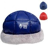 Winter Outdoor Ultralight Goose Down Hat Envelope Sleeping Bag Camping Hiking Skiing Sleeping Bags Accessories Male