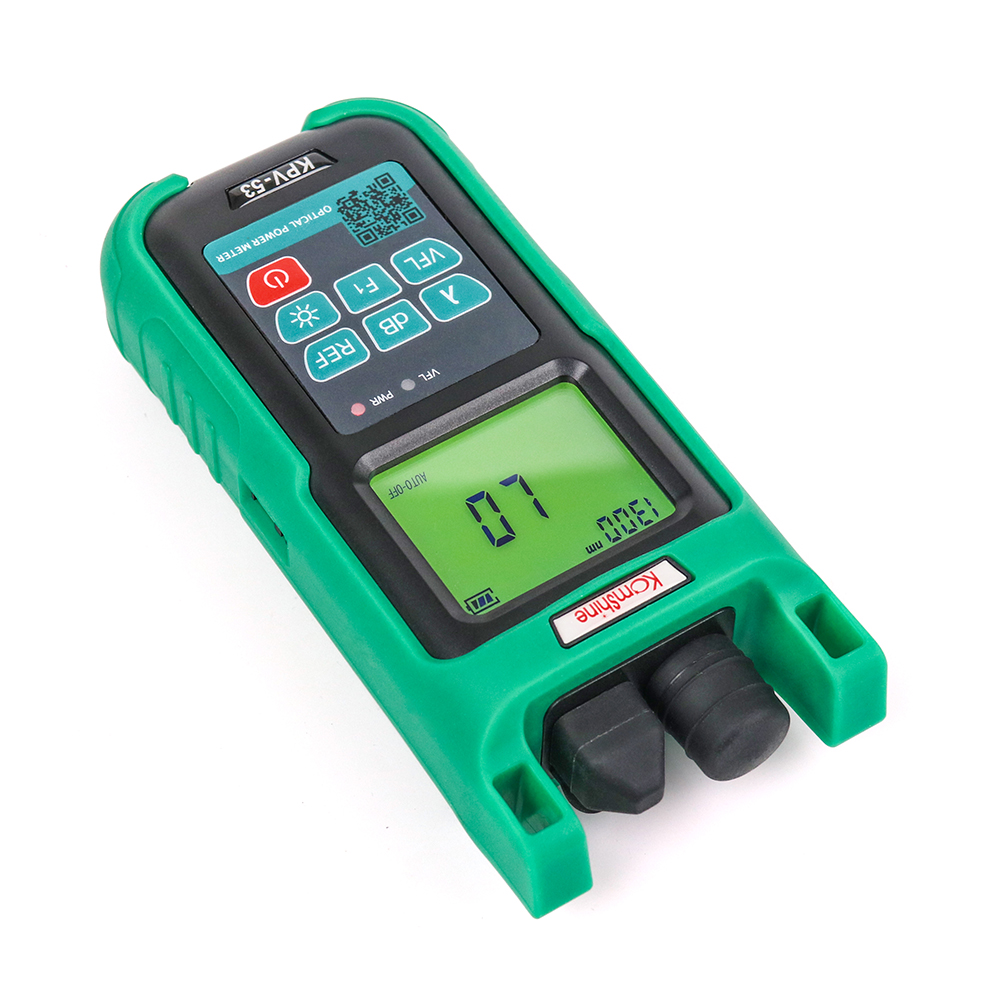 Handheld Komshine KPV-53 Optical power meter with 10mw VFL function OPM SC connectorHandheld Komshine KPV-53 Optical power meter with 10mw VFL function OPM SC connector