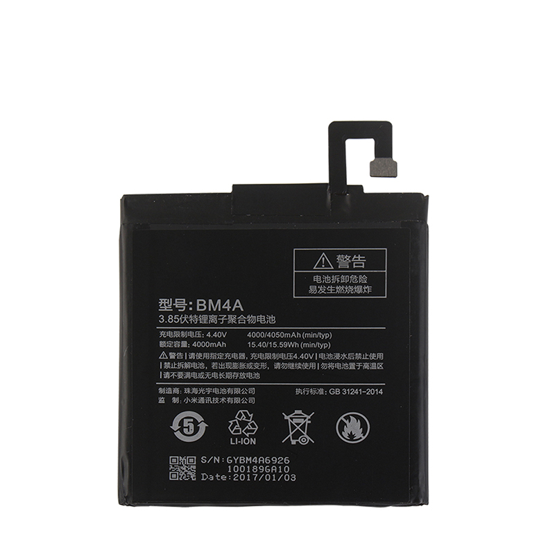 For Xiaomi Redmi Pro BM4A Battery 4000mAh 100% New Replacement accessory accumulators For Xiaomi Redmi Pro