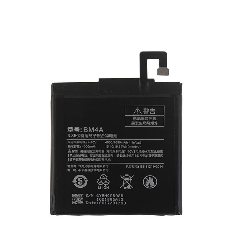 For Xiaomi Redmi Pro BM4A Battery 4000mAh 100% New Replacement accessory accumulators For Xiaomi Redmi Pro
