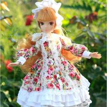 D0700 Best children girl gift 30cm Kurhn Chinese Doll dress Chinese myth Gift Traditional toy 6096 gold hair  Lori  1pcs